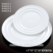 Super White Ceramic Fine Porcelain Dinner Set with elegant Design