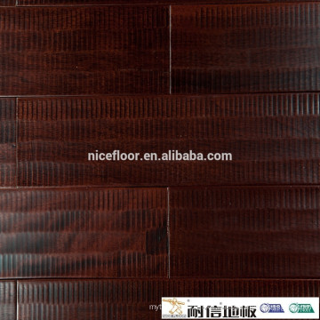 Natural solid wood flooring relief paintings