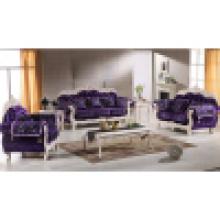 Мебель для гостиной с деревянными диван (929T)