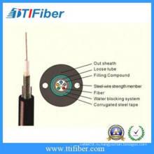12 основных наружных GYXTW волоконно-оптический кабель связи
