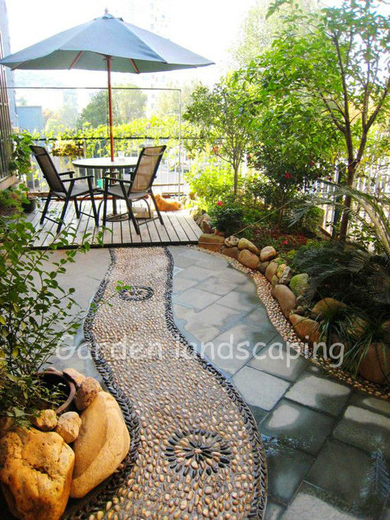 stone tile garden decoration