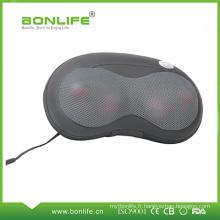 Coussin portatif de massage de maison et de voiture avec la fonction de chauffage