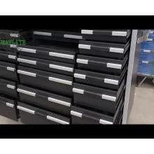 Caja de herramientas de metal de almacenamiento utilizado gabinete de rodillos Qingdao suministro