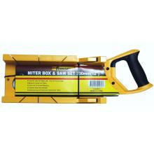 Mitre Box & Zapfen Säge Set Gartenarbeit/Handwerkzeuge