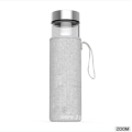 New Design Borosilicate Glass Bottle Silicone Sleeve