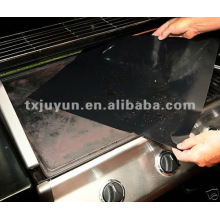 Schwarze Teflon-hitzebeständige BBQ-Blätter