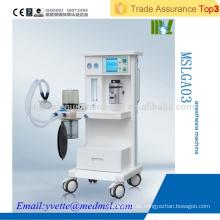 MSLGA03 CE & ISO Approved Medizinische Geräte Anästhesie Ventilator im Krankenhaus