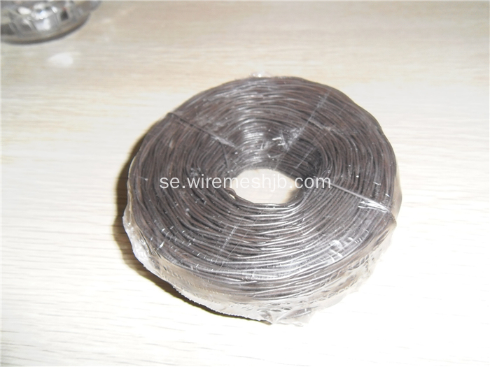 Svart Annealed Mjuk Bindande Wire 1 kg / Spole