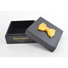 Hölzerner Halsketten-Kasten für Dekoration-Geschenk