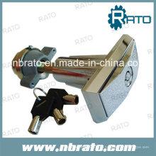 Máquina de venda automática de aço inoxidável T Manipular bloqueio de câmera