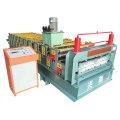 Máquina perfiladora de paneles de pared y techo de doble capa