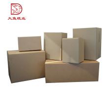 Fabrication professionnelle nouvelle conception papier d'emballage de boîte d'affichage recyclable