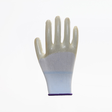 Wear Resistant EN388 Breathable PVC Safety Gloves