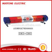 Barre lumineuse d'avertissement led de supervision routière 24VDC avec alarme 150W