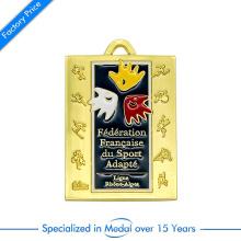 China Custom Enamel Half Marathon Running Medal for Sports Events