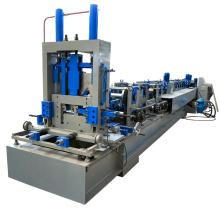 c et z purlin canal en acier rapide changement rapide entièrement automatique 80-300mm froid cz purlin rouleau formant la machine