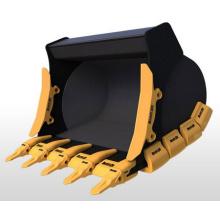 Sapatas de desgaste de canto para escavadoras Hitachi