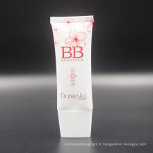 tube ovale superbe d'emballage de maquillage de la crème cc