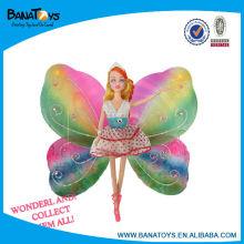 Bonito boneca de silicone borboleta