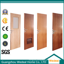 Single/Six Panel PVC Moulded MDF Composite Wooden Door