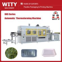 Máquina termoformadora de bandeja de huevos de plástico