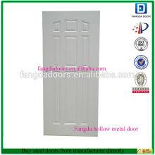 Puerta de acero Fangda utiliza puertas de acero para la venta