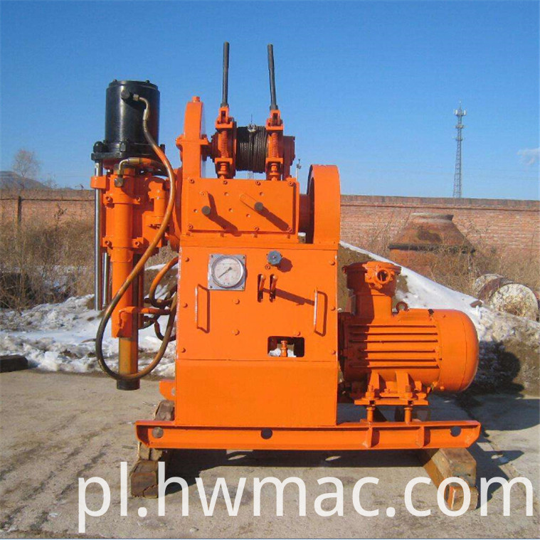 ZDY tunnel drilling rig (2)