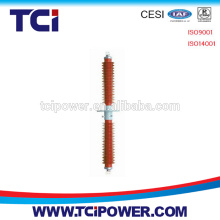 composite high voltage wall bushing