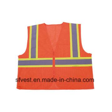 ANSI 107 Standard High Visibility Workwear Reflective Safety Vest