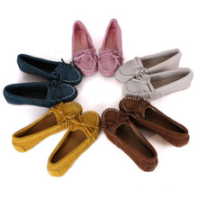 Sapatos casuais de couro Doug para mulheres grávidas Popular raso