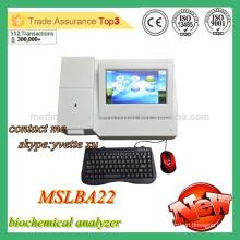 MSLBA22M 2016 Nuevo Analizador de bioquímica semiautomático analizador de química semi automática barato