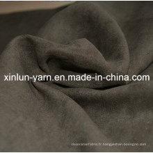 Tissu de daim de fibre de haute qualité pour le vêtement de sofa