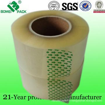 Ruban adhésif de noyau de papier de 2 pouces