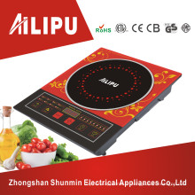 Couleur rouge de marque Ailipu avec cuisinière à induction modèle à grande plaque (ALP-12)