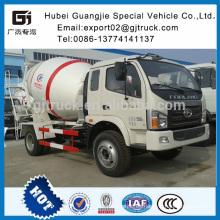 Mezclador de carga automática Mezclador de cemento chino Mezclador de hormigón Foton Mezclador de hormigón de buena calidad hecho en camión de hormigón de China