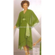 Super Bequeme Chiffon Gewebe Glamorous Design Kleider für Braut Mutter