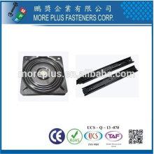 Taiwán Acero inoxidable 18-8 Cobre Latón Deslizante Accesorios de corredera Placas giratorias Llaves laterales abatibles