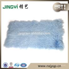 Оптовая высокого качества длинные волосы тибетских монгольских овец меха плиты