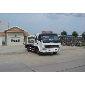 Dongfeng 4x2 flatbed tow truck prices for sale