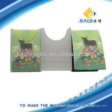 Pano de limpeza de tela multiuso com bolsa de PVC individual