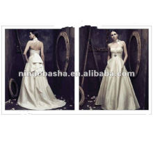 NW-222 Sweetheart neckline with a natural waist and sash on back wedding dress PALOMA BLANCA 4004