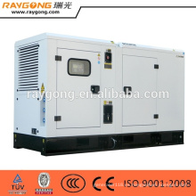Generador diesel silencioso del generador 150kva accionado por CUMMINS