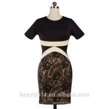 American and European lace dresses with a slit pencil skirt PS04