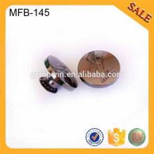MFB145 Botones de encargo de la ropa del metal de encargo del diseñador fabrica