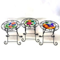 Metall Garten Dekoration Einzel Stuhl Blumentopf Stand Craft