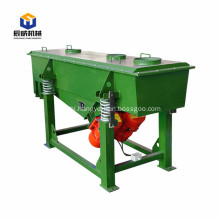 Linear vibrating screen for building material