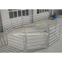 Australian Standard 2.1mx1.8m Cattle Panel, 115X42 Oval Rail Cattle Panel, Pre Galvanized Cattle Panels, Yards Panels for Cattle / Sheep / Horse