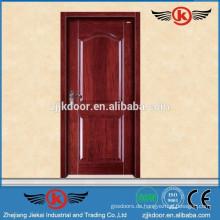 JK-SD9004 solide frosted Glas Schlafzimmer Tür / Teak Holz Designer Eingangstür