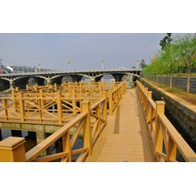 Ecofriendly Waterproof WPC Railing Composite Wood Railing System