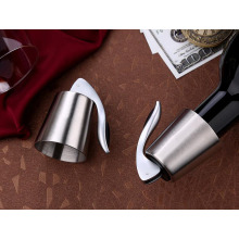 Stainless steel wine stopper